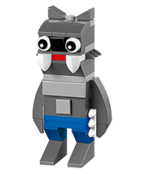 Upcoming: LEGO Werewolf Mini Build for free