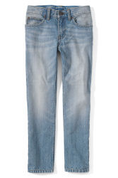 Lands' End Boys Iron Knee Slim Fit Jeans for $15