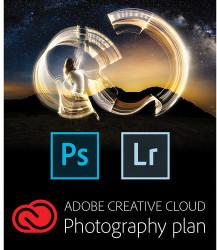 Adobe CC 1-Year Photography Plan for PC / Mac