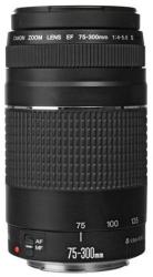 Open-box Canon EF 75-300mm f/4-5.6 III Lens $80