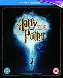 Harry Potter: Complete Collection on Blu-ray $29
