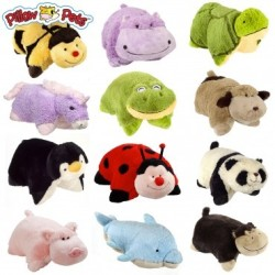Pillow Pets Pee-Wees Plush Toy 4-Pack for $15