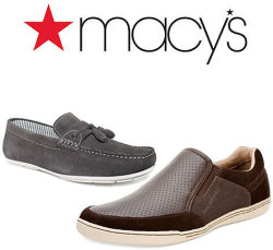Men's Shoes and Boots at Macy's: From $25