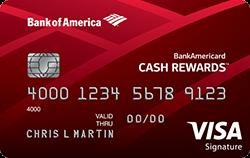 BankAmericard Cash Rewards(TM) Credit Card
