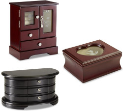 Jaclyn Smith Wood Jewelry Boxes at Kmart: 70% off