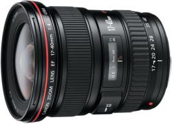 Refurb Canon EF 17-40 f/4L USM Lens for $540