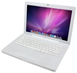 "Refurb Apple MacBook C2D 2GHz 13"" Laptop $110"