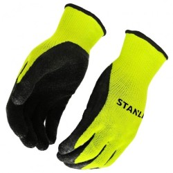 Stanley Thermal Latex-Coated Work Gloves for $6