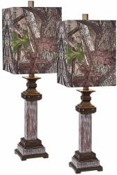 TrueTimber 2-Piece Table Lamp Set for $35