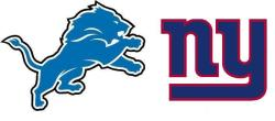 2 Tix to Lions vs Giants NFL Game in NJ from $223