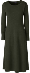 Lands' End Women's Merino Sweater Dress for $50
