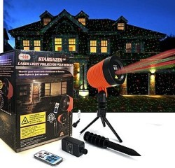 Stargazer 9-Pattern Laser Light Projector for $29 + free shipping