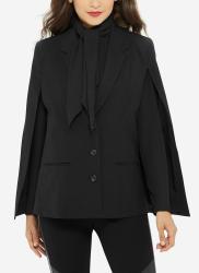 Eva Longoria Women's Buttoned Cape