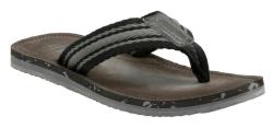 Clarks Men's Riverway Webb Flip-Flops for $30
