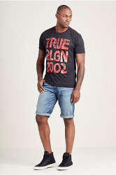 True Religion Men's Geno Shorts for $35