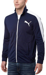 PUMA Men's Contrast Track Jacket for $15