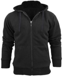 Stanzino Men's Sherpa Lined Hoodie for $13