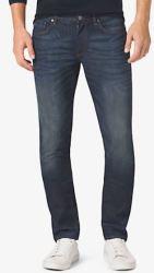 Michael Kors Men's Slim-Fit Stretch Jeans for $88