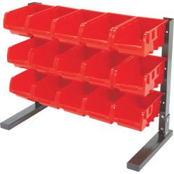 Ironton 15-Bin Tabletop Storage Rack for $15