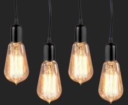 4 BriteNWay 60W Teardrop Edison Light Bulbs