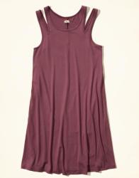 Hollister Women's Cutout Knit Swing Dress for $20