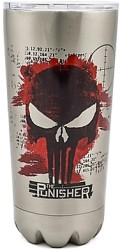 The Punisher 20 oz. Stainless Steel Tumbler $10
