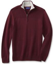 Simply Styled Men's Quarter-Zip Sweater