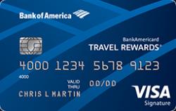 BankAmericard Travel Rewards(R) Credit Card