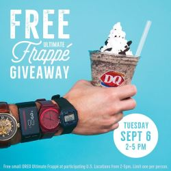 Upcoming: DQ Small Oreo Ultimate Frappe for free