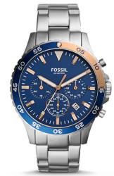 Fossil Men's Crewmaster Chronograph Watch for $90