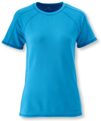 L.L.Bean Women's Polartec Base Layer T-Shirt $13
