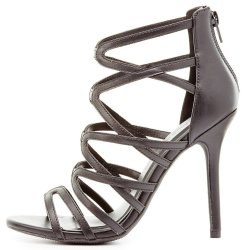 Charlotte Russe Women's Strappy Dress Sandals $25