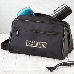 Men's Personalized Toiletry Case $14
