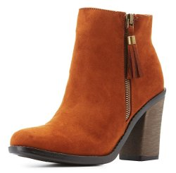 Charlotte Russe Women's Ankle Booties $25