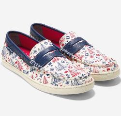 Cole Haan Men's Pinch Canvas Weekender Shoes $28
