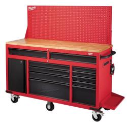 "Milwaukee 60"" 11-Drawer Mobile Workbench $598"