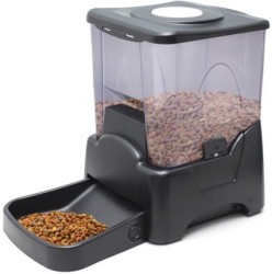 OxGord Programmable Automatic Dog Feeder for $45