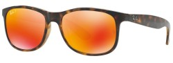 Ray-Ban Men's Andy Polarized Sunglasses for $62