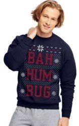 Hanes Christmas Fleece Sweatshirts from $4