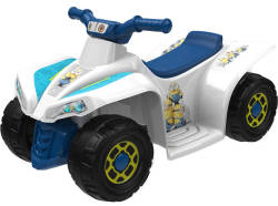 Dynacraft Minions 6V Little Quad Ride-On for $39