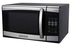 Black + Decker 1-Cu. Ft 900W Microwave Oven $50