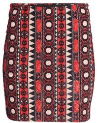 H&M Women's Patterned Jersey Skirt