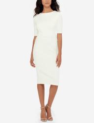 Eva Longoria Women's Power Ponte Dress