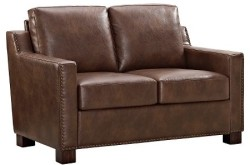 The Industrial Shop Loveseat with Nailheads $265