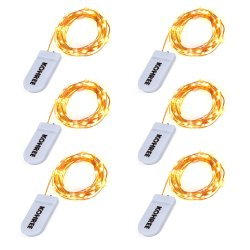 Kohree LED String Fairy Light 6-Pack for $10 + free shipping w/ Prime