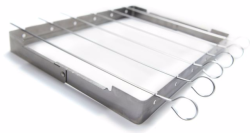 Open-Box GrillPro Stainless Steel Shish Kebab $5