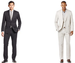 Men's Suits / Suit Separates at Macy's from $15