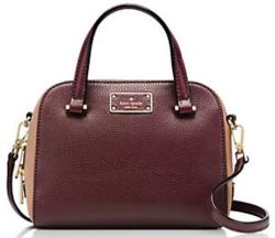 Kate Spade Kay Street Pebble Felix Handbag $109