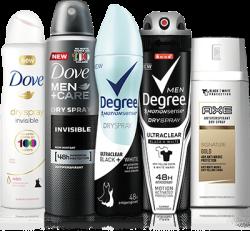 Men's or Women's Deodorant Dry Spray for free