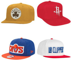 NBA Snapback Caps at Eastbay from $8